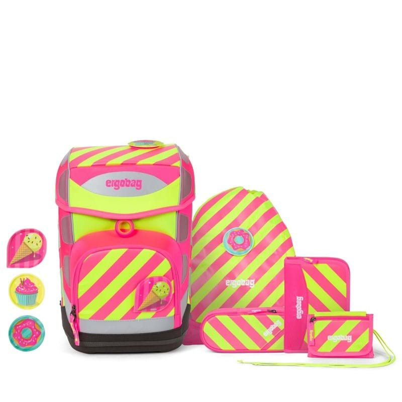 Ergobag Skoletaskesæt Cubo Neo Pink 1