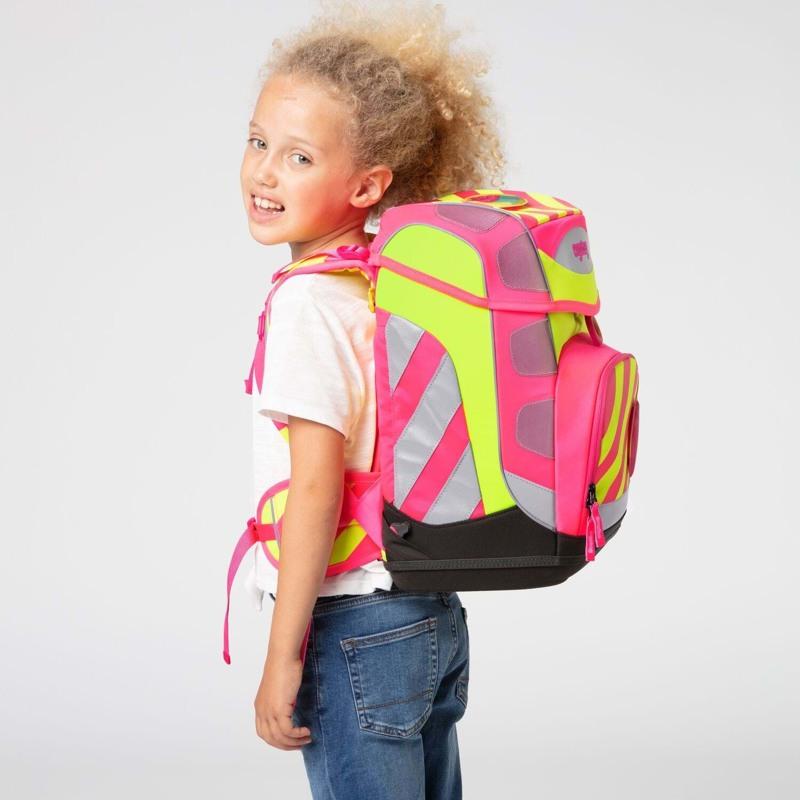 Ergobag Skoletaskesæt Cubo Neo Pink 7