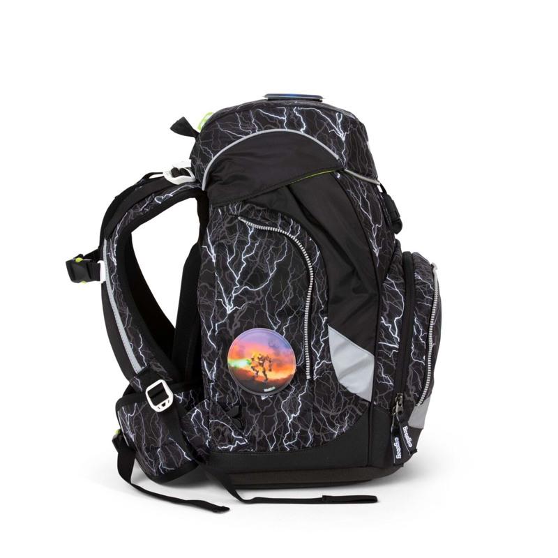 Ergobag Skoletaskesæt Pack Glow Sort/Hvid 3