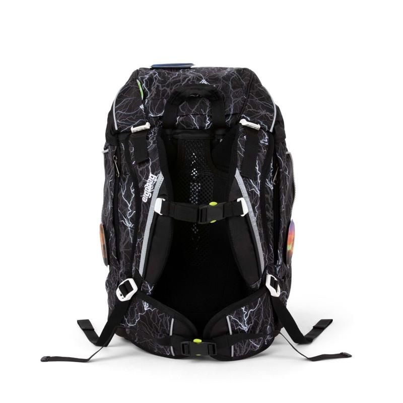 Ergobag Skoletaskesæt Pack Glow Sort/Hvid 4