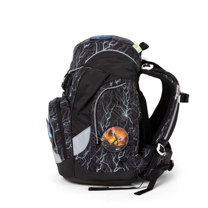 Ergobag Skoletaskesæt Pack Glow Sort/Hvid 5