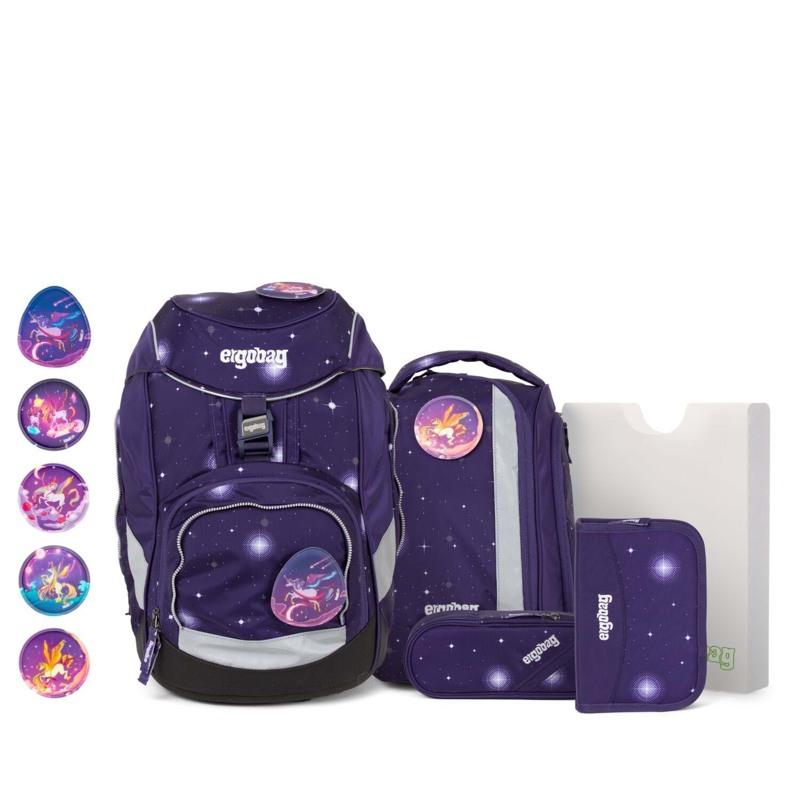 Ergobag Skoletaskesæt Pack Glow M.Lilla 1