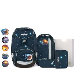 Ergobag Skoletaskesæt Pack Glow Mørk blå 1