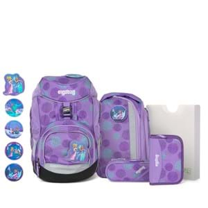Ergobag Skoletaskesæt Pack Glow Lilla