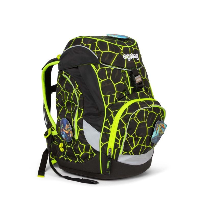 Ergobag Skoletaskesæt Pack Lumi Sort/Gul 2