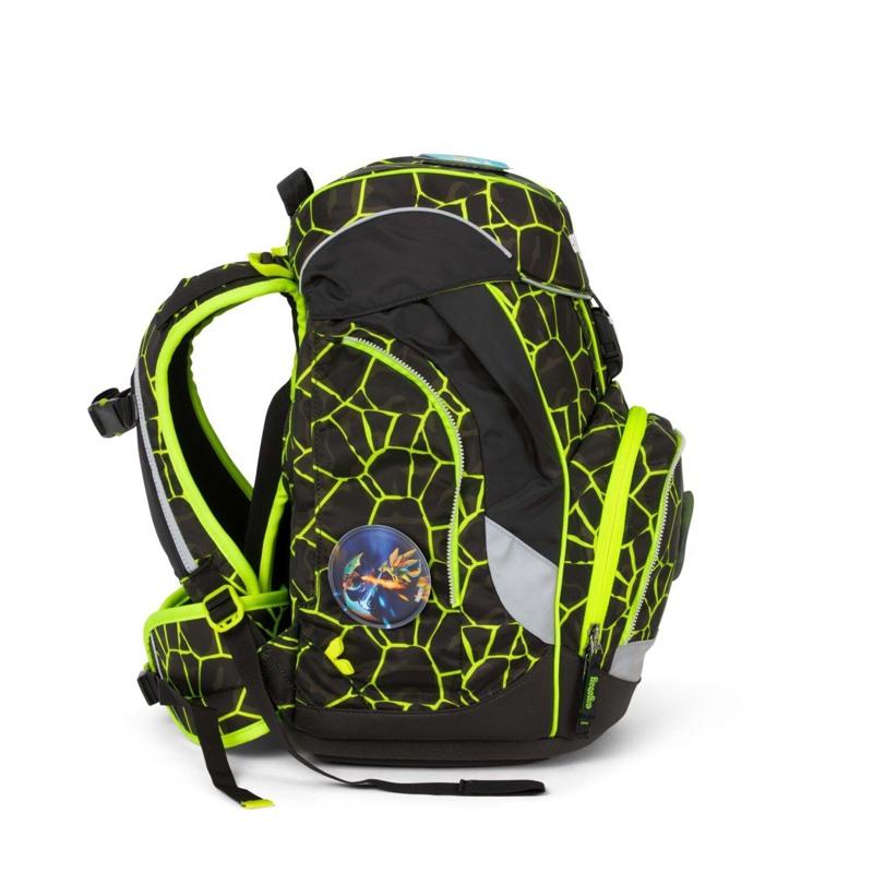Ergobag Skoletaskesæt Pack Lumi Sort/Gul 3