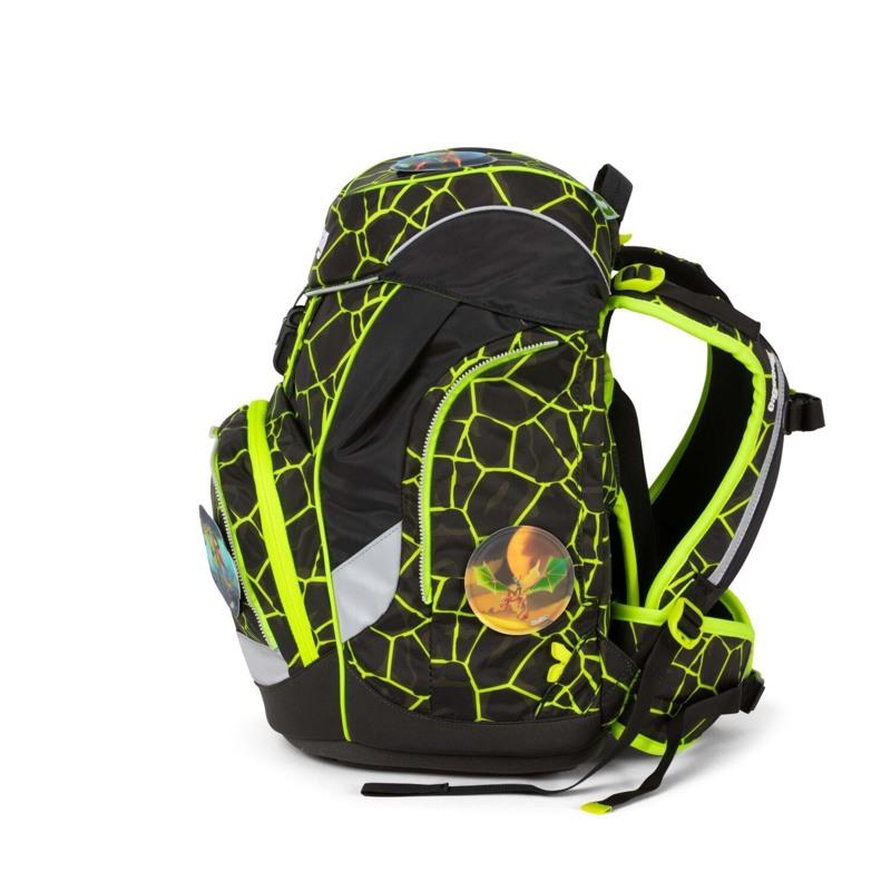 Ergobag Skoletaskesæt Pack Lumi Sort/Gul 5