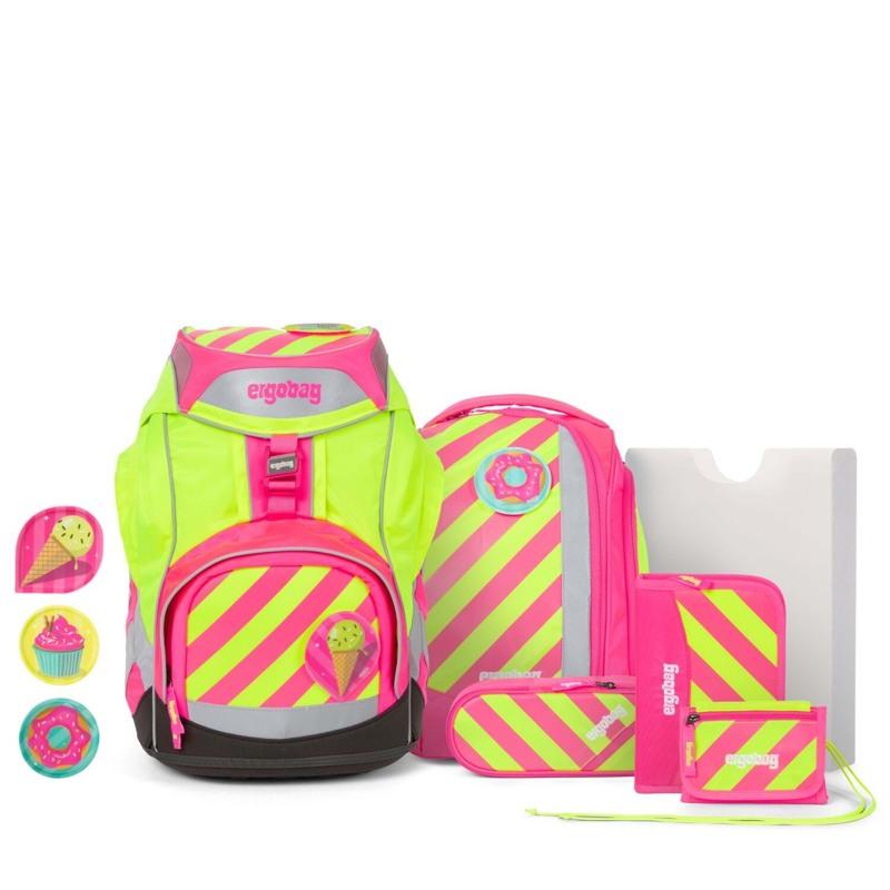 Ergobag Skoletaskesæt Pack Neo Pink 1