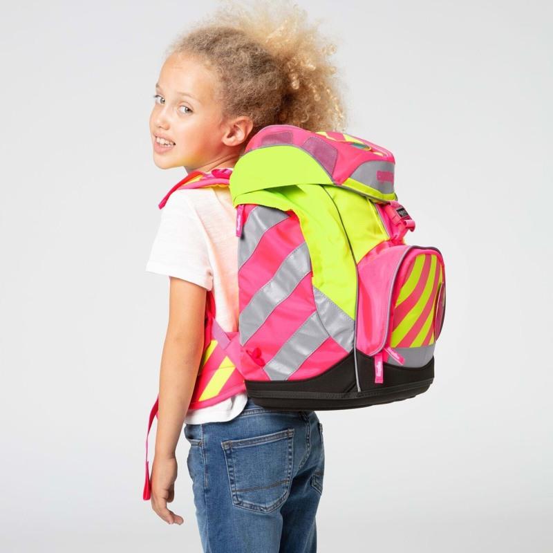 Ergobag Skoletaskesæt Pack Neo Pink 7
