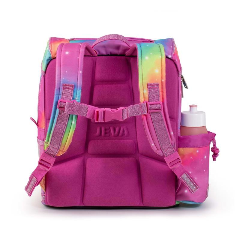 JEVA Skoletaske Intermediate Unicor Pink 3