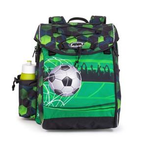 JEVA Skoletaske Intermediate Footba Grøn