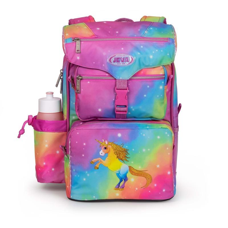 JEVA Skoletaske Beginners Unicorn Pink 1