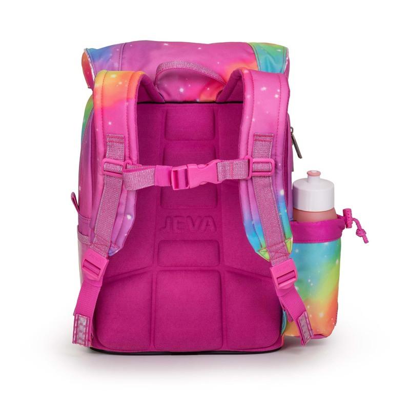 JEVA Skoletaske Beginners Unicorn Pink 3