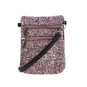 Petit by Sofie Schnoor Cross Body Glitter Lyserød