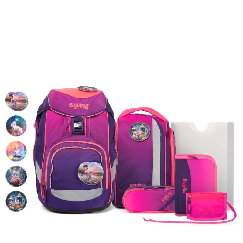Ergobag Skoletaskesæt Pack Ltd Edition Lilla/pink 1