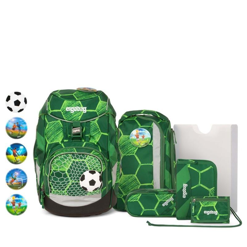 Ergobag Skoletaskesæt Pack Ltd Edition Grøn mønster 1