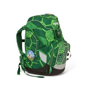 Ergobag Skoletaskesæt Pack Ltd Edition Grøn mønster alt image