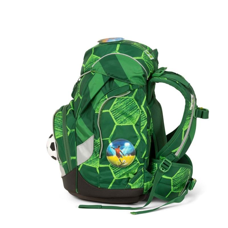 Ergobag Skoletaskesæt Pack Ltd Edition Grøn mønster 5