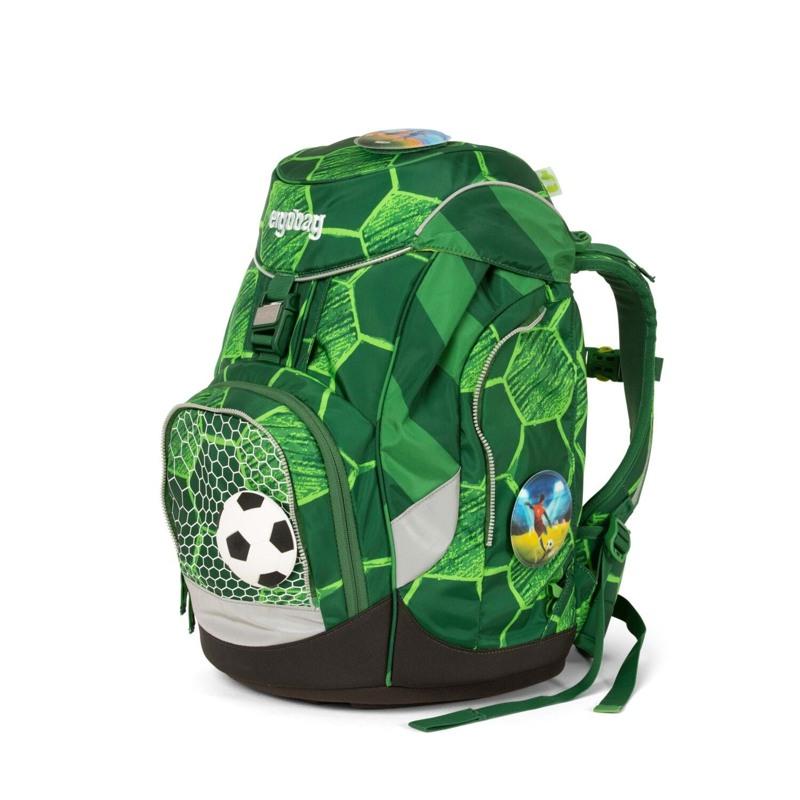 Ergobag Skoletaskesæt Pack Ltd Edition Grøn mønster 6