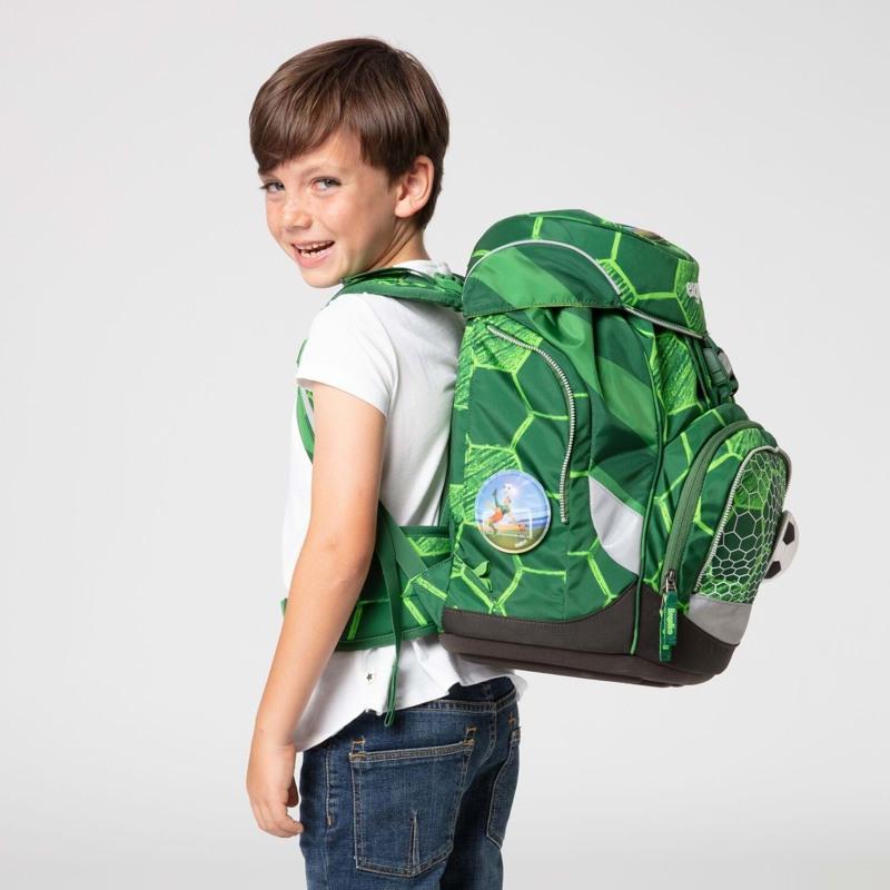 Ergobag Skoletaskesæt Pack Ltd Edition Grøn mønster 7
