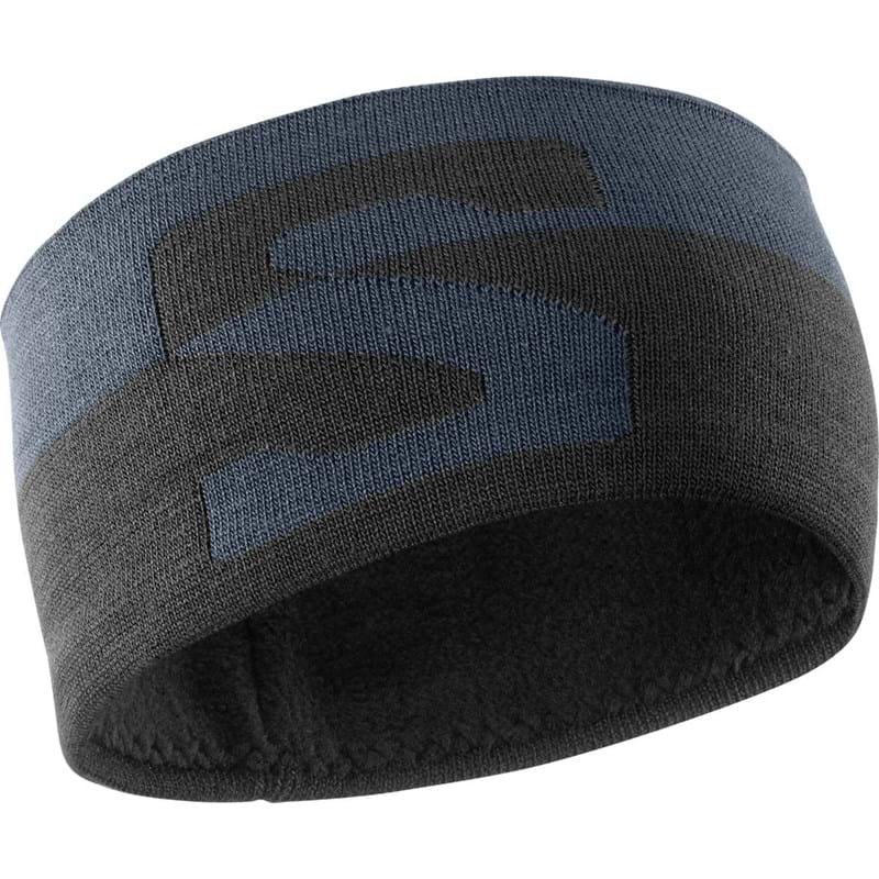 Salomon Pandebånd Original Headband Grå/blå 1