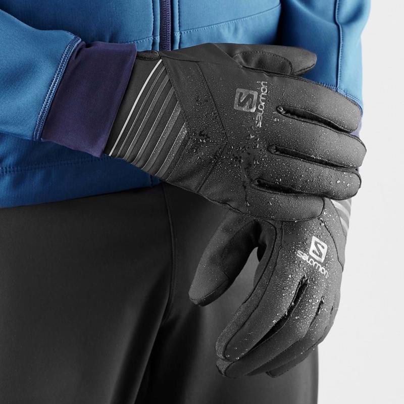 Salomon Herrehandske RS Warm Glove U Sort 4