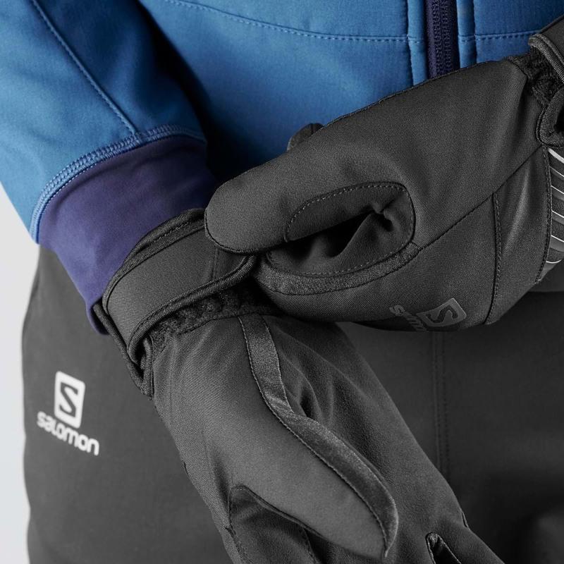 Salomon Herrehandske RS Warm Glove U Sort 3