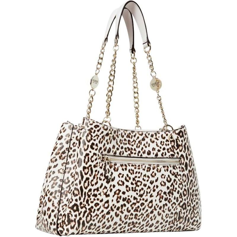 Guess Håndtaske Lorenna Girlfriend Leopard 1
