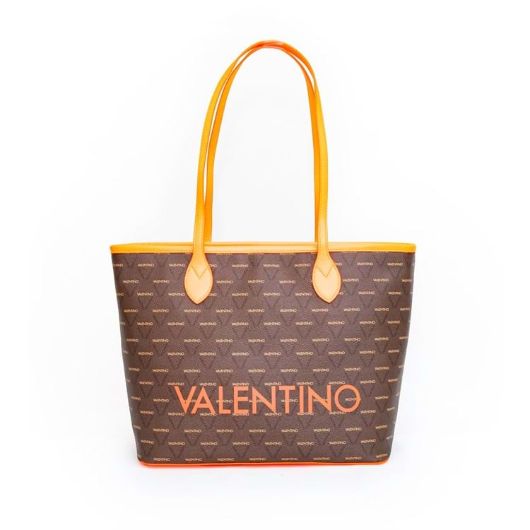 Valentino Handbags Shopper Liuto Fluo Orange 1