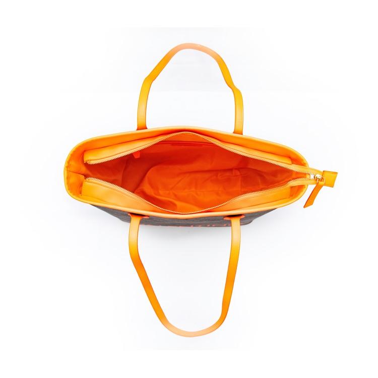 Valentino Handbags Shopper Liuto Fluo Orange 4