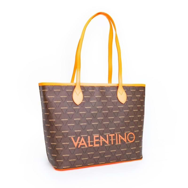 Valentino Handbags Shopper Liuto Fluo Orange 3