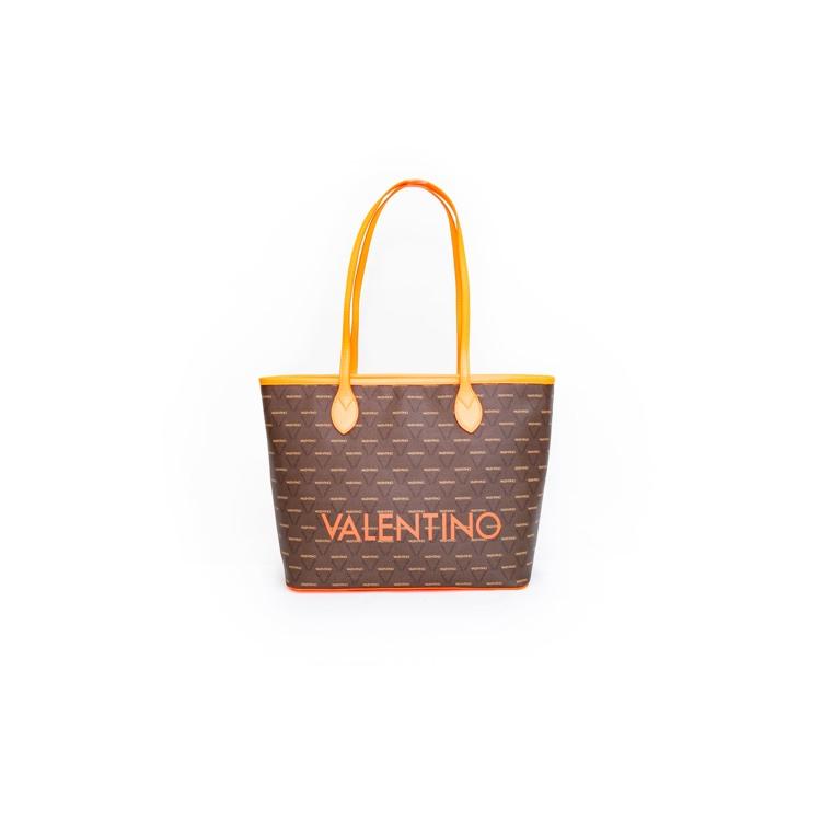 Valentino Handbags Shopper Liuto Fluo Orange 5