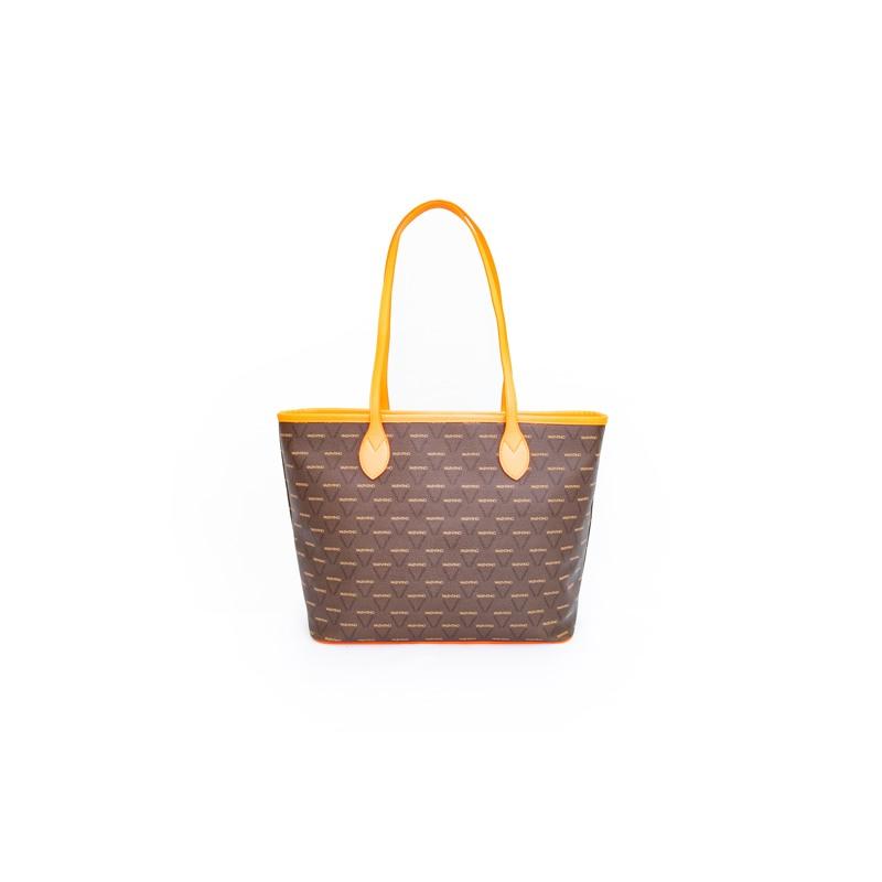Valentino Handbags Shopper Liuto Fluo Orange 7