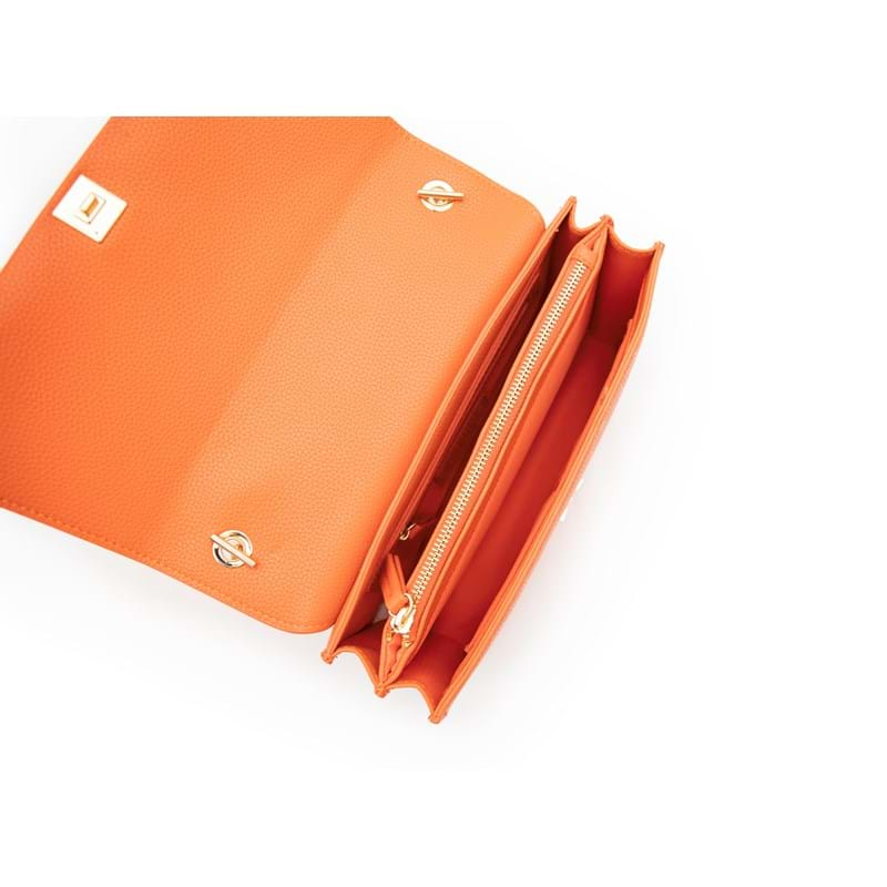 Valentino Bags Crossbody Sfinge Orange 6