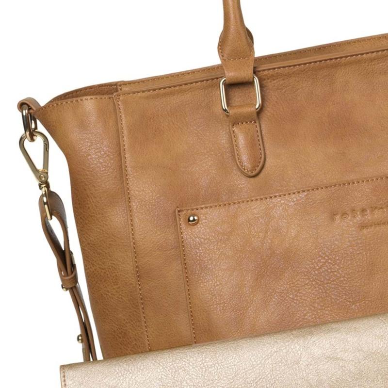 Rosemunde Shopper Brun/brun 2
