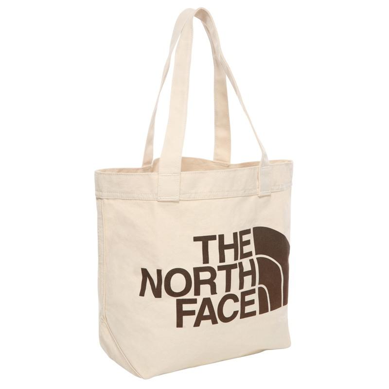 The North Face Shopper Cotton Tote Creme/Sort 2