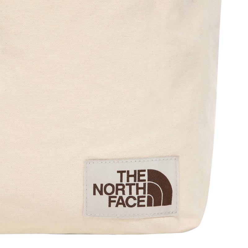 The North Face Shopper Cotton Tote Creme/Sort 4