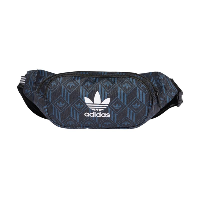 Adidas Originals Bæltetaske Waistbag Monogram Sort/blå 1