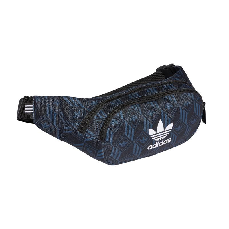 Adidas Originals Bæltetaske Waistbag Monogram Sort/blå 2