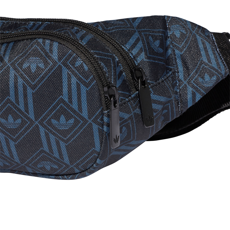 Adidas Originals Bæltetaske Waistbag Monogram Sort/blå 6