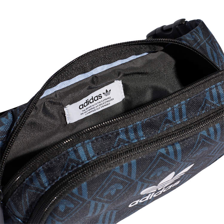 Adidas Originals Bæltetaske Waistbag Monogram Sort/blå 7