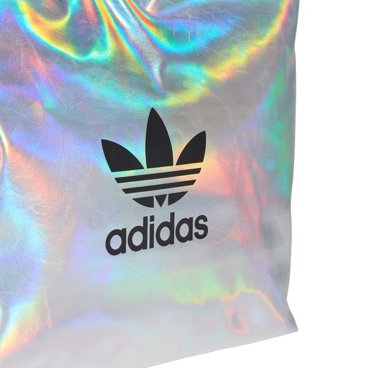Adidas Originals Shopper Metallic Sølv 4