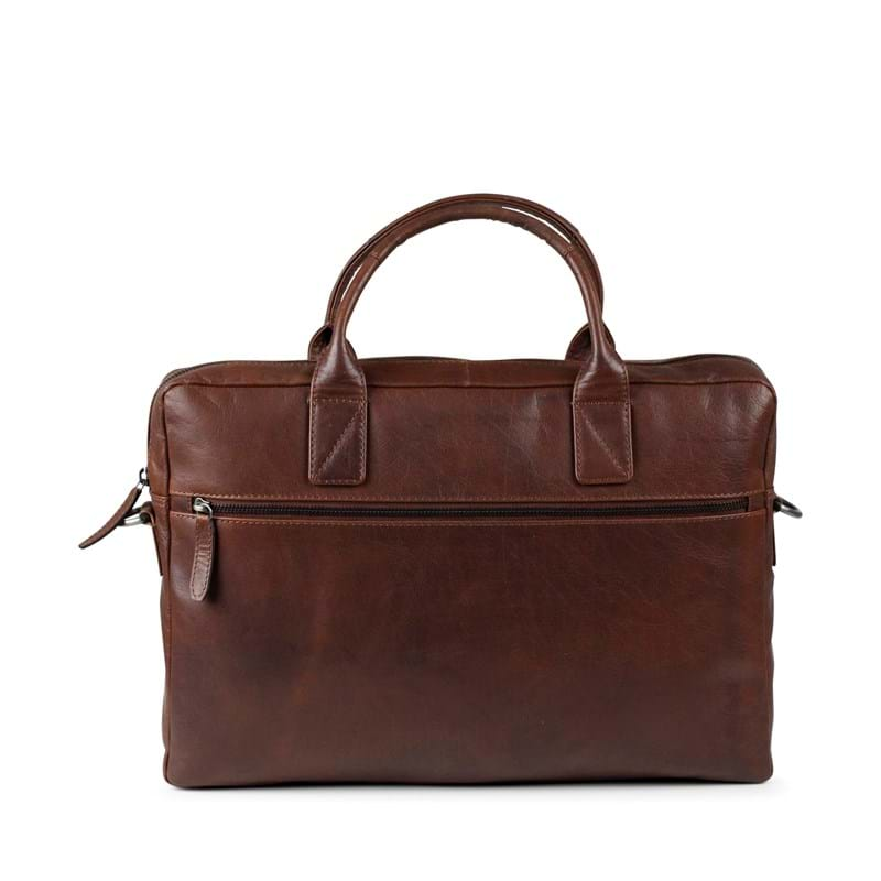 Tyler & Co Computertaske Chicago Cognac 1