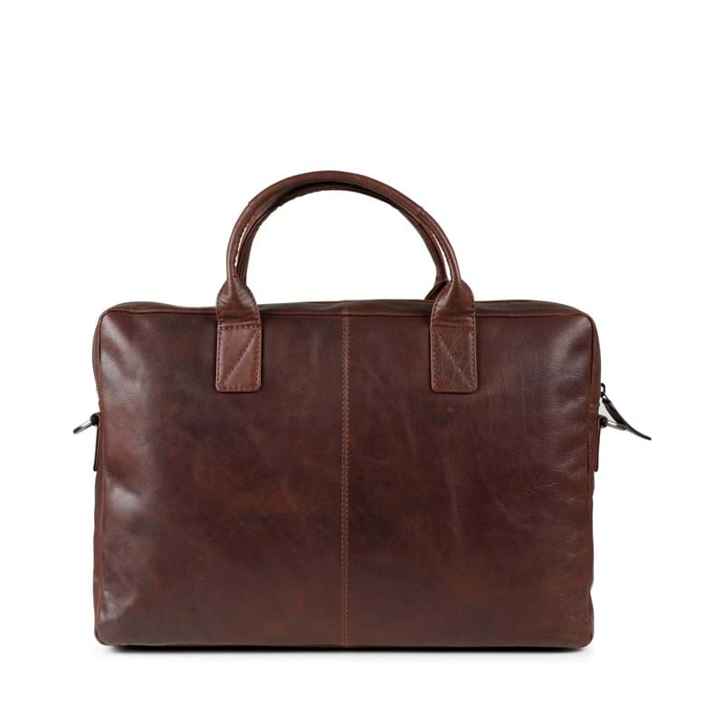 Tyler & Co Computertaske Chicago Cognac 4