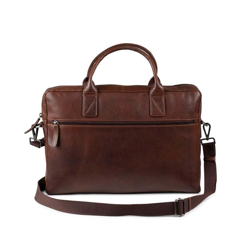 Tyler & Co Computertaske Chicago Cognac 5