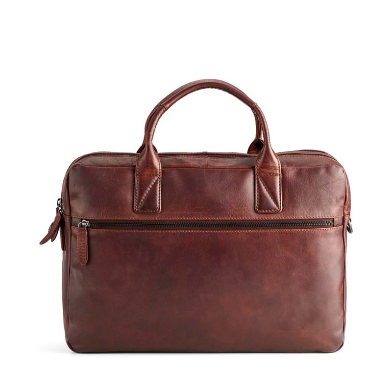 Tyler & Co Computertaske Denver Cognac 1