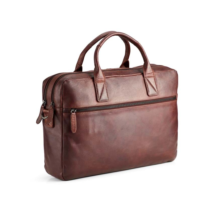 Tyler & Co Computertaske Denver Cognac 2