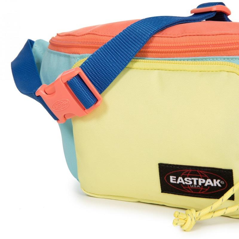 Eastpak Bæltetaske Page Blå/gul 4