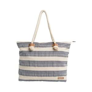 Superdry Shopper Striped Rope Blå