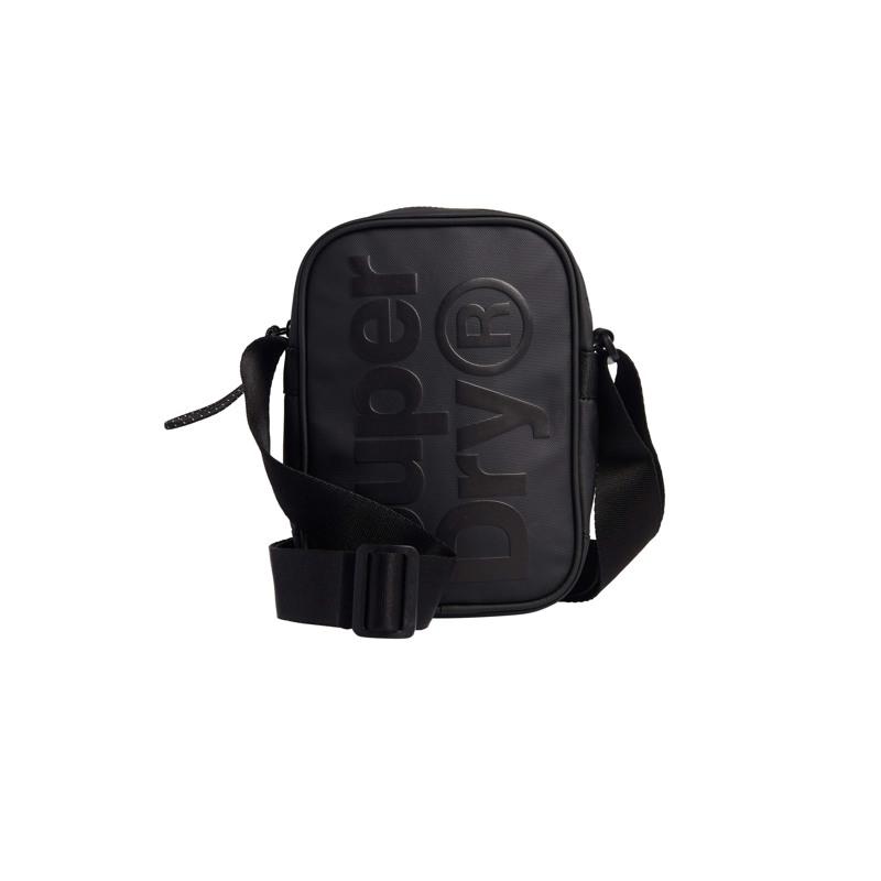 Superdry Skuldertaske Side Bag Sort 1